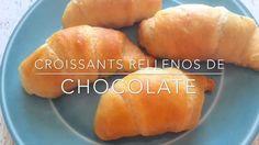 Croissants Rellenos de Chocolate