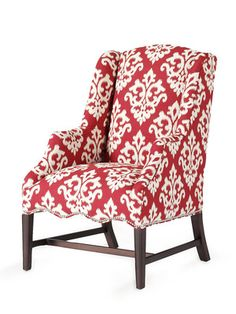 Randall Chair by By Design on Gilt Home    (Not usually into big patterns, but for some reason I like this.)