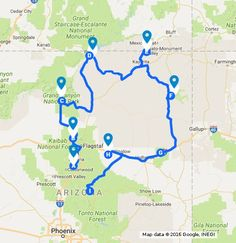 Arizona Natural Wonders Road Trip