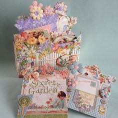 Gorgeous Secret Garden mini album by Yumi Muraeda #graphic45