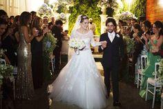 Casamento em cerimônia cristã e muçulmana