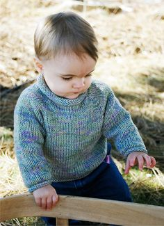 #214 Baby Pullover, Knitting Pure & Simple