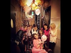 SNSD's SooYoung Birthday Party with Member of Girls Generation