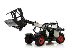 This Claas Scorpion 6030 with Bucket Diecast Model Lifter is Black and White and features working boom, bucket, wheels. It is made by Universal Hobbies and is 1:32 scale (approx. 20cm / 7.9in long).  ...