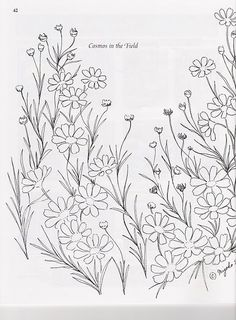Embroidery Pattern from Comos In The Field Gallery.ru / Фото #35 - sound of flowers - Polly-Polly.Gallery.ru.com. jwt