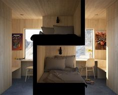 I Really Like The Privacy Small Space Living, Small Rooms, Small Spaces, Living Spaces, Bedroom Small, Bedroom Black, Living Room, Sibling Bedroom, Lounge Areas