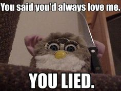 Angry furby...