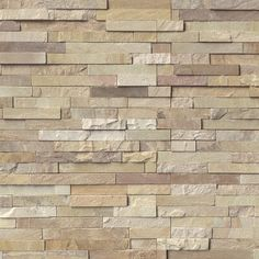 Rockmount Fossil Rustic 6 X 24 Ledger Panel -Fossil Rustic sandstone ledger panels incorporate soothing grays and creams with highlights of light rust. This split face sandstone is and is recommended for hardscaping and wall projects in both r Honed Marble, Travertine, Gray Marble, Home Depot, Stacked Stone Panels, Stone Accent Walls, Sandstone Wall, Stone Veneer, Stone Tiles