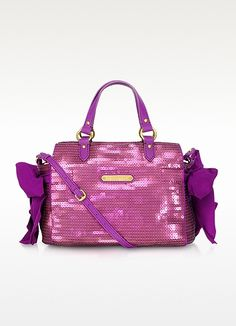 Juicy Couture Sunshine Shimmer Miss Daydreamer Sequin Satchel | FORZIERI