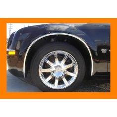 """Car By The Foot Universal Black 5//8/"""" Wide Wheel Well Mouldings w// Lip Truck"""