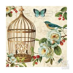 Free as a Bird II Giclee Print