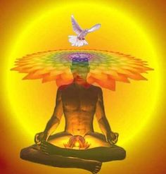"""The overall conception has many points in common with Chinese theories of acupuncture. Yoga and Tantra propose that this energy may be """"awoken"""" by such means as austerities, breath and other physical exercises, visualisation and chanting. It may then rise up a subtle channel at the spine (called Shushumna) to the head, bringing psychological illumination. Each chakra is said to contain special characteristics."""