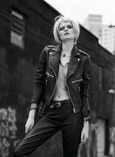 Novos Tempos - Notícia - Dia-a-Dia Revista Biker, Rocks, Editorial, Punk, Leather Jacket, Jackets, Closet, Style, Fashion