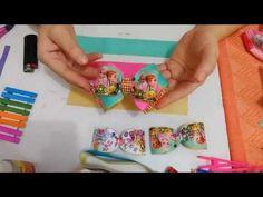 Laço triplo da Chica - transpassado - YouTube
