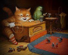 Играй шарманка картина А.В.Маскаева