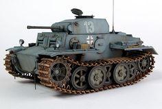 panzer 2 | Panzer II Ausf J (VK 1601 Reconnaissance Tank)