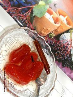 Tante Kiki: Γλυκό κόκκινο ντοματάκι Cookbook Recipes, Cooking Recipes, Greek Cake, Cypriot Food, Greek Sweets, Homemade Sweets, Marmalade, Yams, Greek Recipes