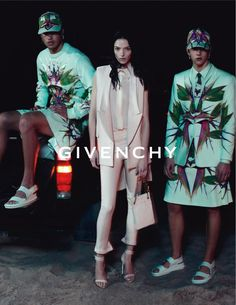 Mariacarla Boscono for Givenchy Spring 2012.  Photographed by Mert & Marcus.
