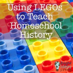Using Legos to Teach Homeschool History