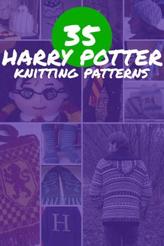 There are few fandoms that are as old, but still as popular as the Harry Potter fandom. These 35 free Harry Potter knitting patterns are quality work.