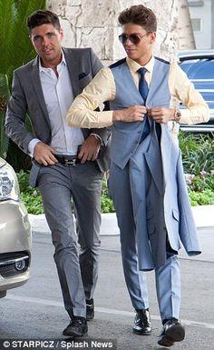 Joey Essex & Tom Pearce arrive at the club