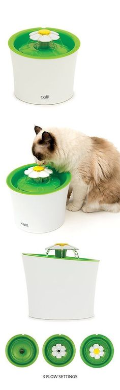 Dishes Feeders and Fountains 177784: Catit Flower Fountain Dishes Feeders Fountains Cat Supplies Pet -> BUY IT NOW ONLY: $38.95 on eBay!
