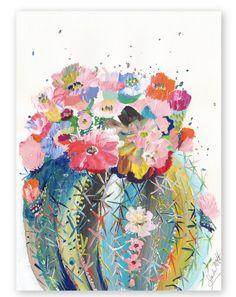 Desert Series III by Starla Halfmann Cactus Painting, Cactus Art, Painting & Drawing, Cactus Drawing, Drawing Drawing, Art Amour, Art Design, Oeuvre D'art, Love Art