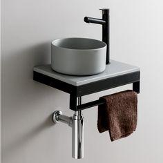 Hits Online Shop(ヒッツオンラインショップ) / Nothing found Wc Bathroom, Bathroom Vanity Units, Washroom, Small Bathroom, Comfort Room, Futuristic Interior, Downstairs Toilet, Toilet Design, Minimalist Bathroom
