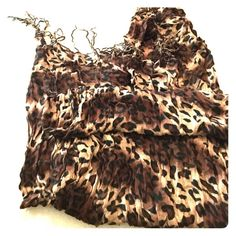 cheetah print scarf cheetah print scarf, in good condition Charlotte Russe Accessories Scarves & Wraps