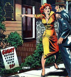 Pictorial Romances #20 - Matt Baker art & cover   http://mudwerks.tumblr.com/post/110605699349/pictorial-romances-20-matt-baker-art-cover