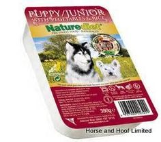Naturediet Puppy Junior 18 x 390g High quality chicken and lamb vegetables and rice to provide a highly digestible food for the first six months of a puppies life.