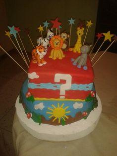 torta Mundo animal