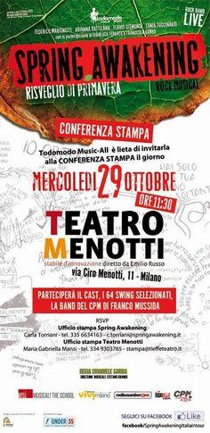 TG Musical e Teatro in Italia: Fra pochi giorni a Milano l' attesissimo debutto d...