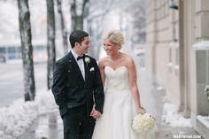 Toledo Club Weddings Winter wedding Caroline + Drew  By Mary Wyar Photography http://marywyar.com