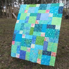 Confessions of a Fabric Addict: Nifty Nines Quilt-Along - The Simplest Quilt Ever!