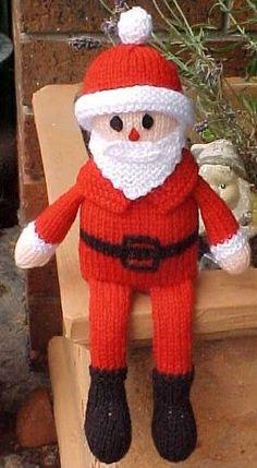 déco de noel au tricot