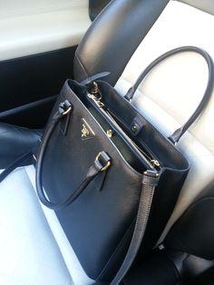 Prada Saffiano Lux Tote Black - my next bag!