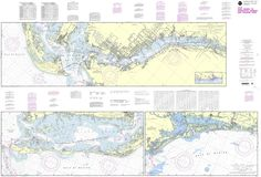 NOAA Nautical Chart 11427: Intracoastal Waterway Fort Myers to Charlotte Harbor and Wiggins Pass