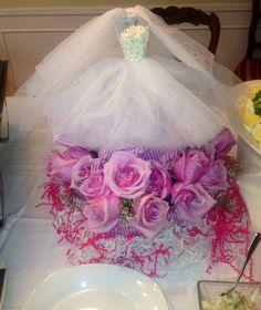 Bridal Shower Center piece