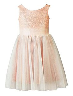 Wallbridal Sequin Tulle Flower Girl Dress Toddler Dress Junior Bridesmaid Girl Formal Dress (2, Blush) Wallbridal http://www.amazon.com/dp/B017794S3Q/ref=cm_sw_r_pi_dp_Zh7xwb0TPY0XS