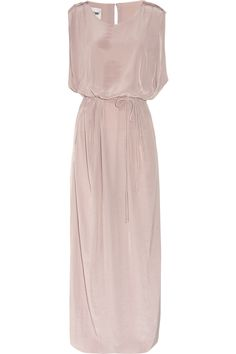 We could live in this ACNE Marnay washed-georgette maxi dress.  Net-a-Porter, via ShopStyle