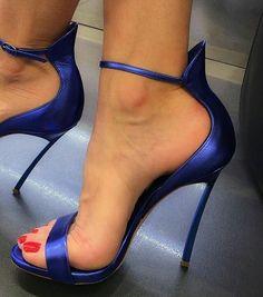 Pretty Toes In Heels : Photo #strappystilettoheels