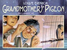 Grandmother's Pigeon - A tale about a quirky grandmother who unexpectedly sails away from her family, leaving behind warm memories and her room's few belongings -- including her collection of birds' nests. One year after Grandmother's departure, three eggs in one of the nests miraculously begin to hatch and out pops a breed of passenger pigeon long thought to be extinct. (Author is tribally enrolled in the Turtle Band of  Chippewa)