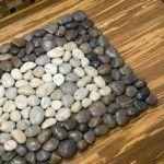 Como hacer tapetes de piedra - Curso de Organizacion del hogar