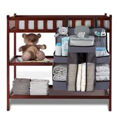 Diaper Storage, Diaper Organization, Diaper Caddy, Nursery Organization, Baby Stuff Organization, Baby Boy Rooms, Baby Room, Unique Baby Shower, Happy Baby