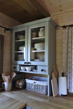 Kitchen Hutch, English Kitchens, Natural Living, Vintage Kitchen, Pergola, Cottage, House, Home Decor, Ideas