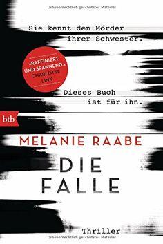 Die Falle: Thriller von Melanie Raabe http://www.amazon.de/dp/3442714176/ref=cm_sw_r_pi_dp_qqufxb15TTS6E