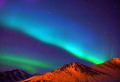 Truly one of the most beautiful things I've ever seen in my life. A masterpiece from God. Aurora Borealis ~ Anchorage, Alaska