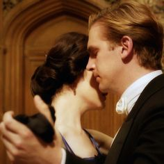Downton Abbey - Favorite Couple Alert :D most definitely. Lady Mary Crawley, Lady Sybil, Downton Abbey, Movies Showing, Movies And Tv Shows, Matthew And Mary, Matthew 3, Matthew Crawley, Dowager Countess