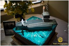 Cake #aircraft carrier #US Navy #Beeville TX #robsphoto